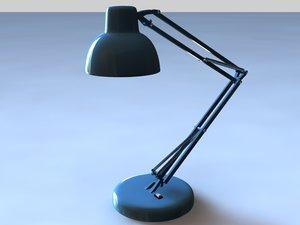 desk lamp 3d max