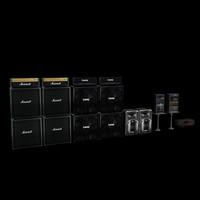 3dsmax concert equipment pack