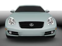 3d lexus sc 2007 model