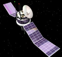 3d satellite spacecraft