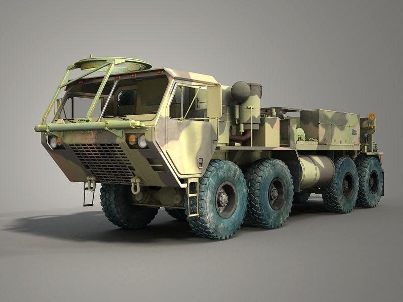 3d model m984 wrecker