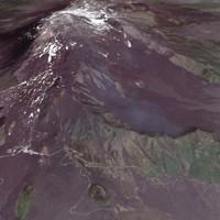 Mt Etna 3D Model