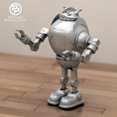 maya toy robot