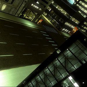 night street 3d model