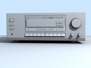 amplifier home 3d 3ds
