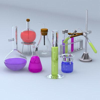 equipment lab 3d max