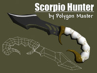 scorpio hunter 3d model