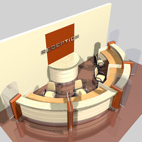 bank reception desk