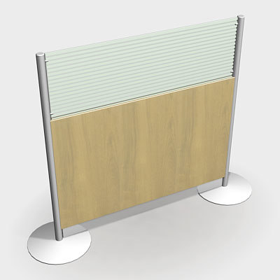 office screen 3d model