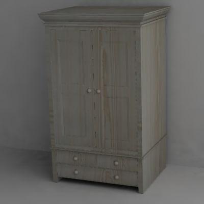 3d model cabinet wardrobe