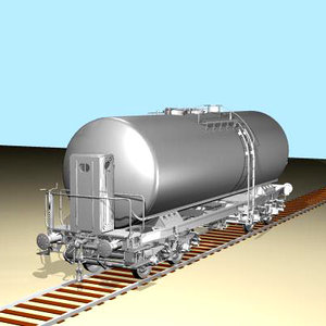 freight wagon 3d max