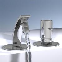 modern faucet 3d model