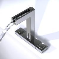modern faucet 3ds