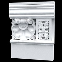 crown moulding 3d model