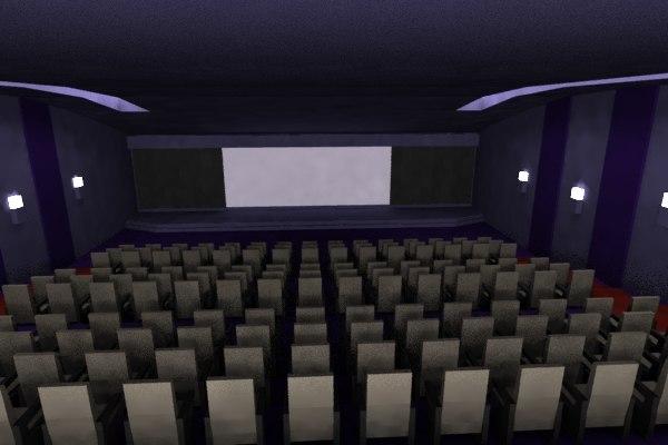 interior theatre blend