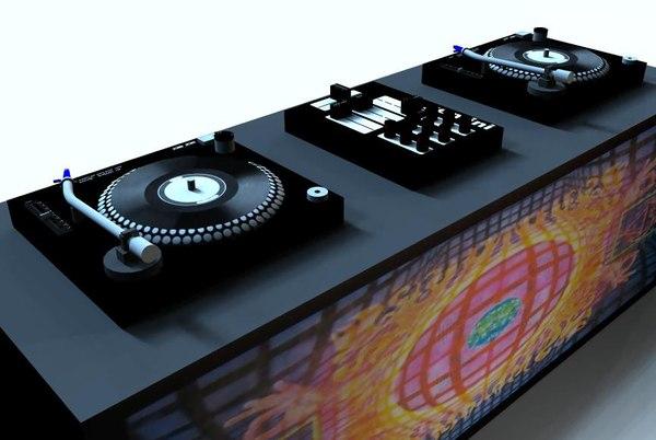 3d model decks
