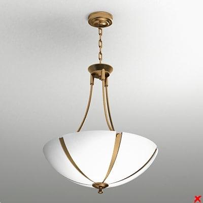 3dsmax chandelier light lamp
