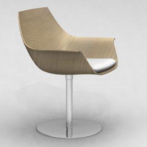 chair - ostwald nolting 3d model
