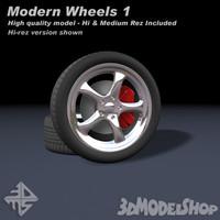 modern wheels max