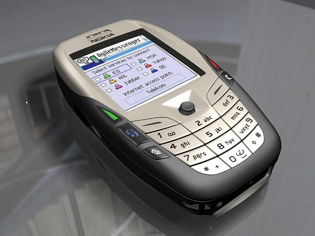 nokia 4400 3d model