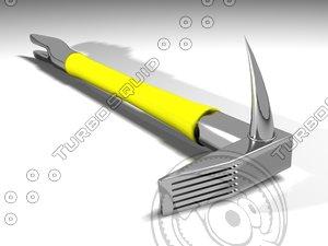 3d hallagan tool model