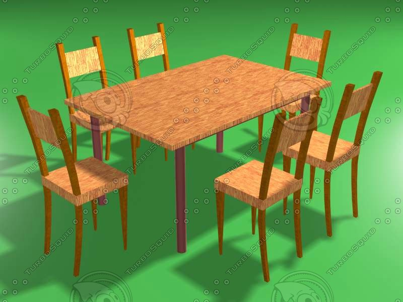 free ma mode dining table