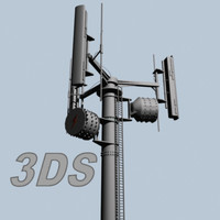 3d 3ds communications tower