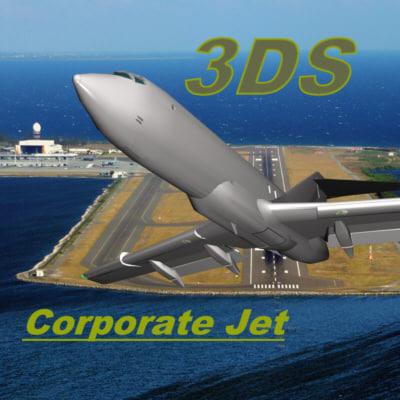 3d model of mesh jet