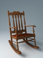 rocking chair 3ds