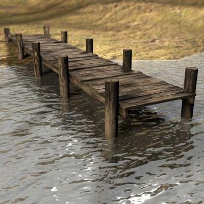 3d old pier