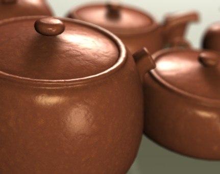 kitchen pottery 3d c4d