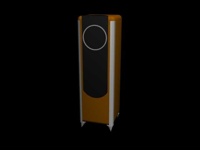 3d speaker model
