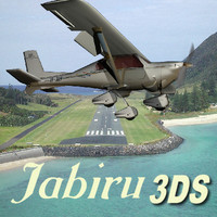 australian jabiru aircraft aviation 3d model