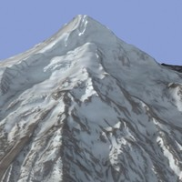 Mt Hood 3D Model