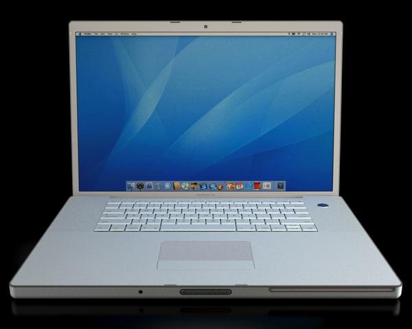 apple macbook pro 3d max