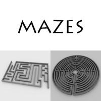 maze 3d model