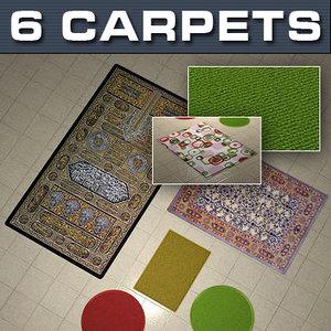 floor carpets 3d model