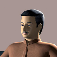 man body character 3d 3ds
