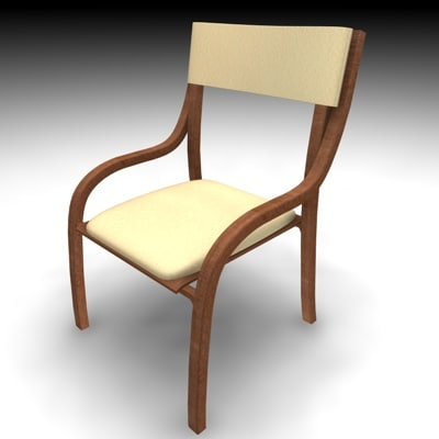 chair sit 3ds