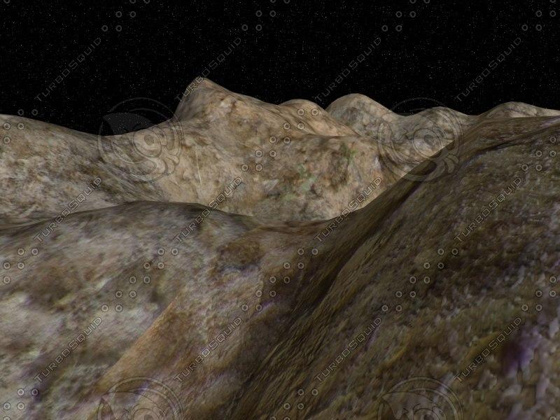 free terrain landscape 3d model