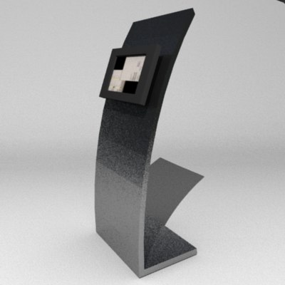 3d lwo terminal touchscreen screen