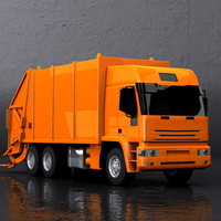 Generic Garbage Truck I