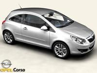 car interior 3d model