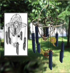 3ds max wind chimes