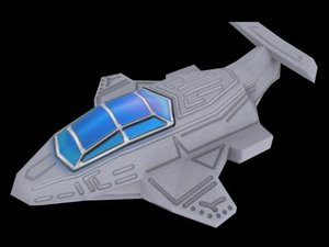 3ds space ship