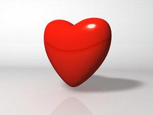 3d model heart