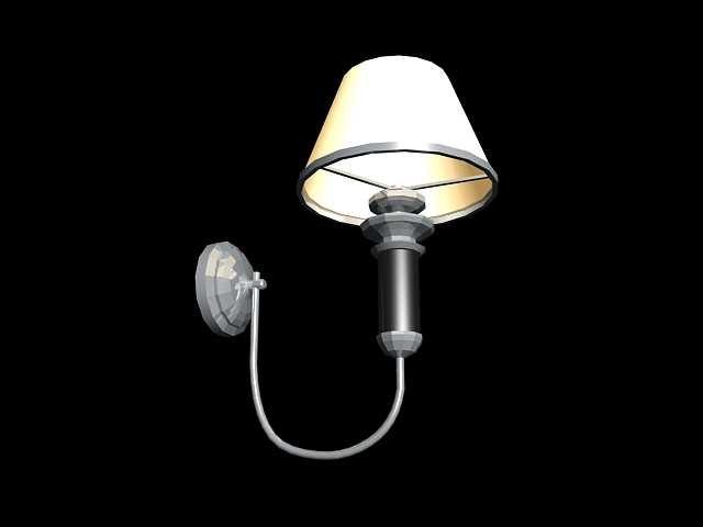3d model sconce lamp-bracket