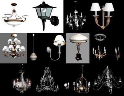 maya lamp chandelier
