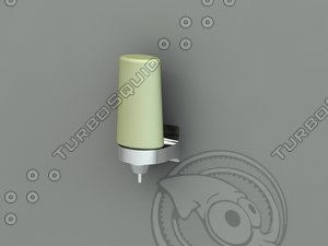 3d model of liquid soap dispenser