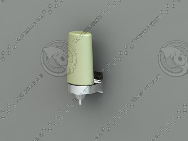 3d model of liquid soap dispenser